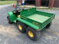 John Deere 6 wheel Gator UTV - Diesel