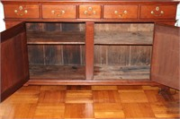 Early Cherry Step Back Cupboard