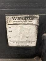 Wurlitzer Juke Box In Working Order With Remote.