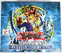 Yugioh Blue Eyes WD 1st Edition Sealed Booster Box