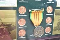 Vietnam War Historic Collection Coin Set In Box