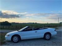 Lot 17 - 1999 Chrysler Sebring Convertible