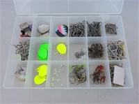 Plastic Container & Contents