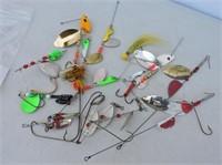 Selection Spinner Bait, Mepps, Erie Dearie, Etc