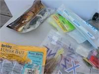 Large Quantity Plastic Lures