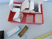 Container Of Hooks & Swivels