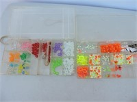 Quantity Beads, Etc With Containers