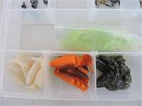 "Plastic Container & Contents 14""x9x2"""