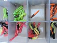 "Plastic Container & Contents 14""x9x2"