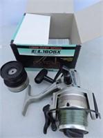 Daiwa Graphite EL1605 Reel With Box, Etc