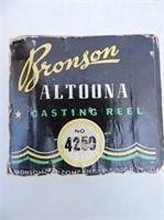 Bronson Altoona Level Wind Casting Reel #4250