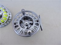 Fly Rod Reel With Spare Reel