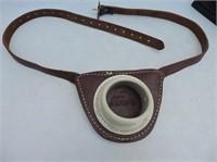 Sampo Leather Belt Rod Holder