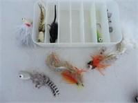 Quantity Flies & Container