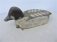 Vintage Hand Carved Working Decoy