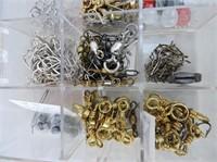 Selection Hooks, Swivels, Snaps & Case