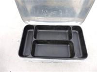 Aluminum Umco Double Sided Tackle Box