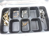 Aluminum Umco Double Sided Tackle Box, Contents