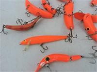 Quantity Flatfish, Rapala, Etc