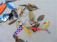 Selection Mepps & Manistee Lures, Etc