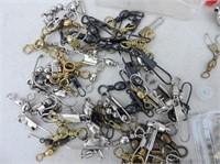 Quantity Hooks, Snaps, Swivels, Etc