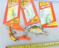 Fishback, Flatfish, Fire Plug, Etc