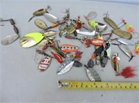 Quantity Spoons, Mepps, Etc