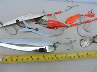 """Selection Spoons, 7"""" Krocodile, Spinners, Etc"""