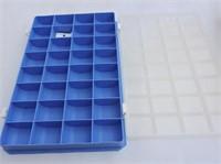 2 Plastic Tackle Boxes & Contents