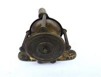 Antique Brass Ice Fishing Reel
