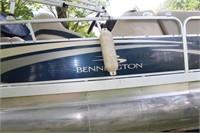 2011 BENNINGTON 20FT PONTOON BOAT W/YAMAHA 60 ENG