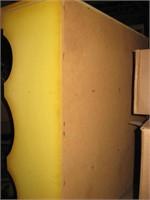 Yellow hutch