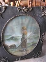 Ornate frame print