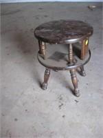 Four legged round end table