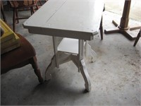Walnut parlor table