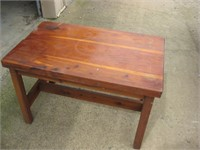 Redwood table