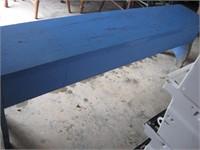 6 foot wood children's school bench