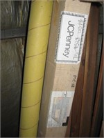 Various curtain and drapery rods