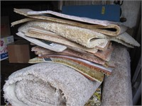 Pieces and carpet samples