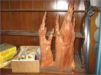 Cypresswood pieces