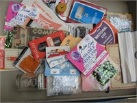 Stamps and sewing notions