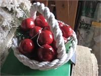 10 ceramic fruit baskets