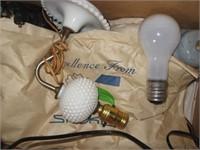 Assorted desk lamps