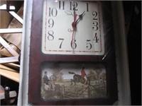 New electric quartz clock