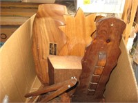 Boxes of Decorative wood