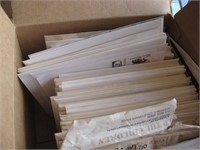 Box of new assorted cards
