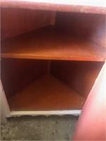 Wood Corner cabinet
