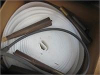 Box with roll Styrofoam