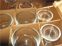 """8 8"""" stemmed bar fish bowls"""