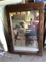 Three large mirrors